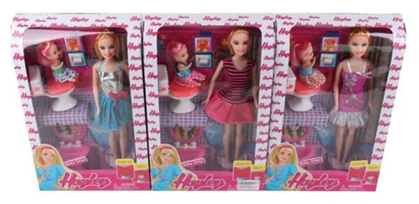 Куклы Наша Игрушка Счастливая семья HB022