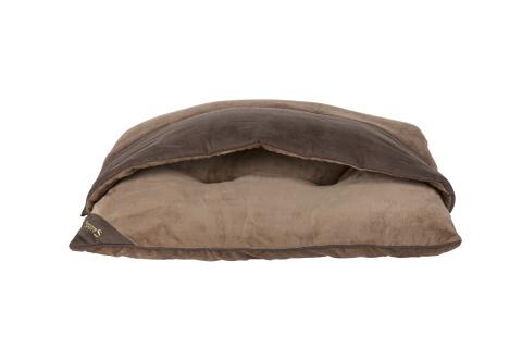 Лежак х нора для собак Scruffs Chester Divan 80 х 65 х 14 коричневый