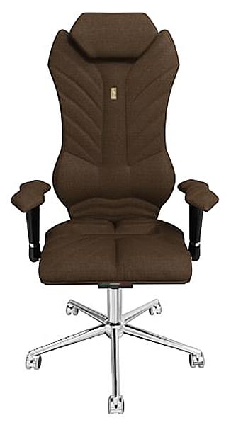Кресло руководителя Kulik System Monarch 206, коричневый фото