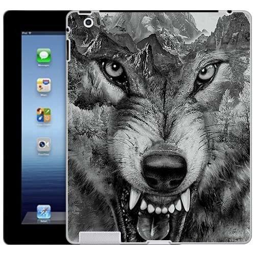 Чехол Gosso Cases для Apple iPad 2 / iPad 3 / iPad 4 «Волк в горах»