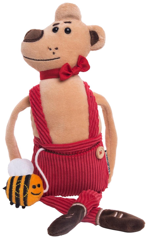 Купить Мягкая игрушка животное Gulliver Медведь Чарльз 51-T78035B, Мягкие игрушки животные