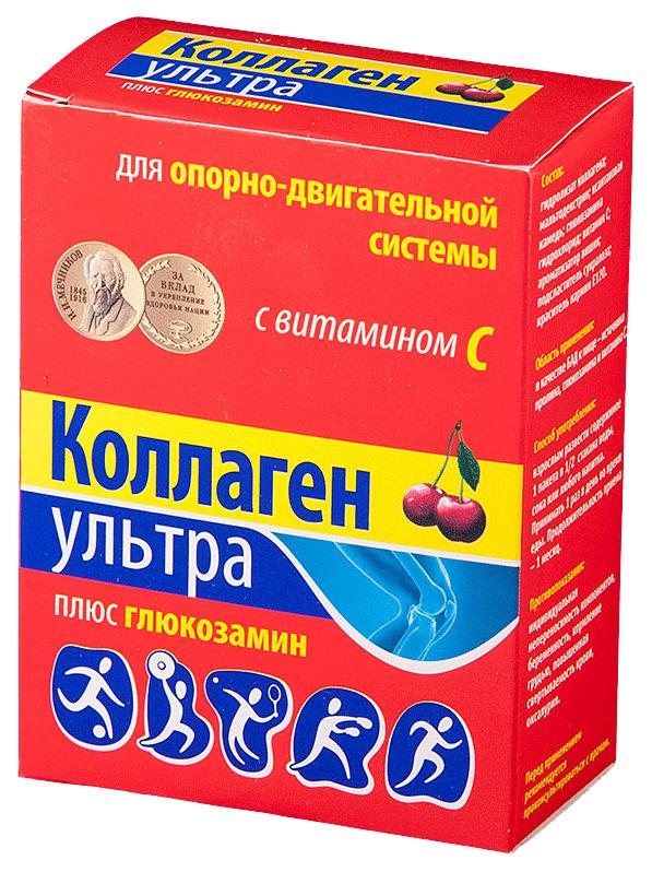 Коллаген ультра + глюкозамин порошок 8 г 7 шт. вишня