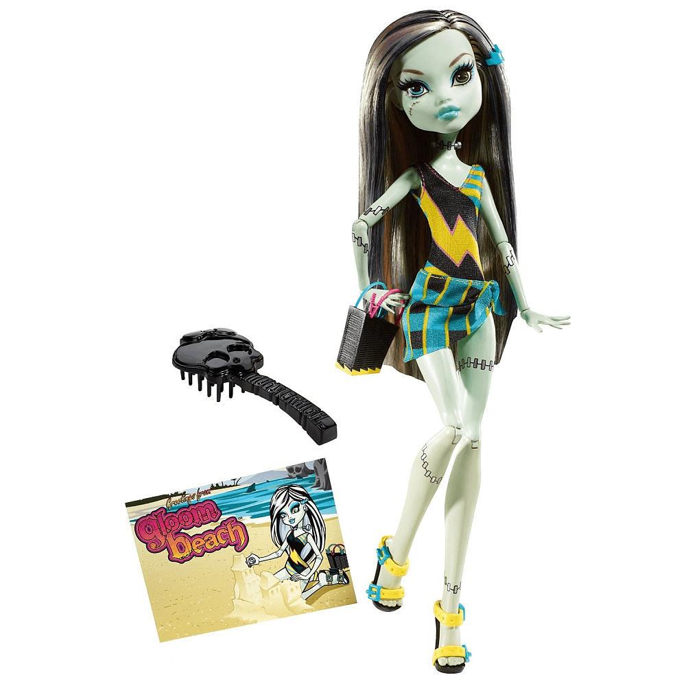 Купить Кукла Monster High Фрэнки Штейн - Мрачный пляж T7988, Куклы Monster High
