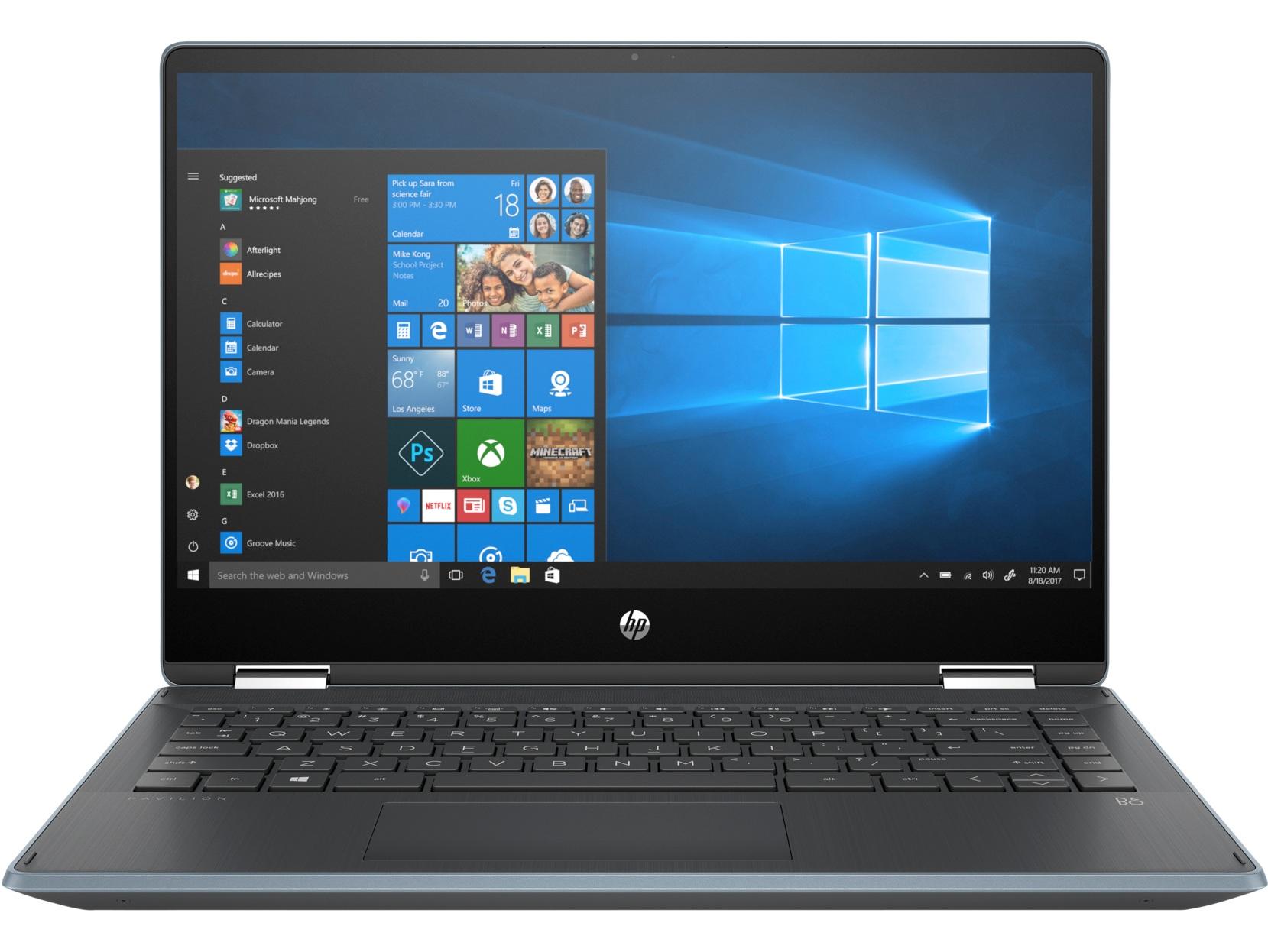 Ноутбук трансформер HP Pavilion x360 14 dh0012ur