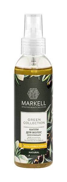 Масло для волос MARKELL Green Collection УКРЕПЛЯЮЩЕЕ 100 мл