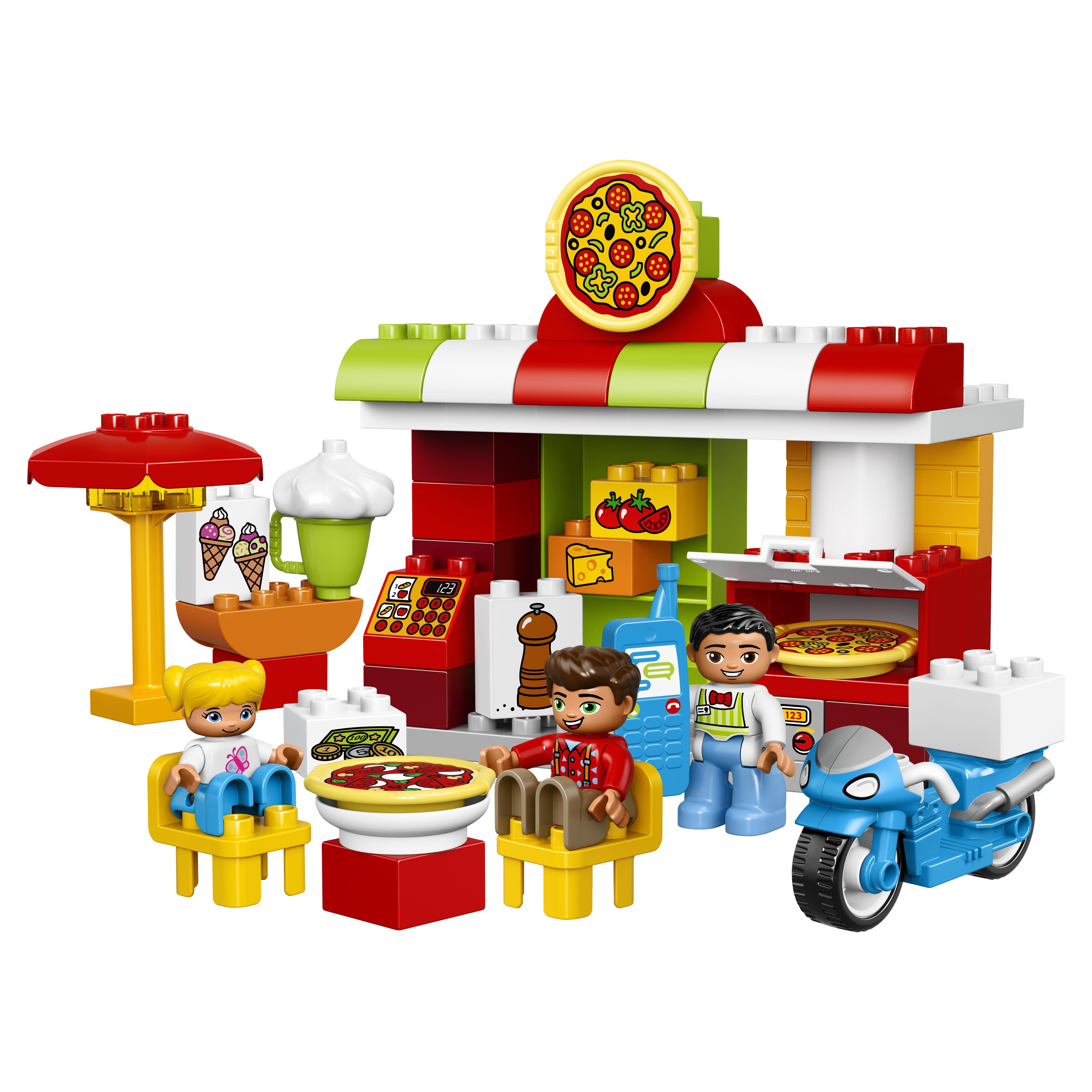 Конструктор LEGO Duplo Town Пиццерия (10834)