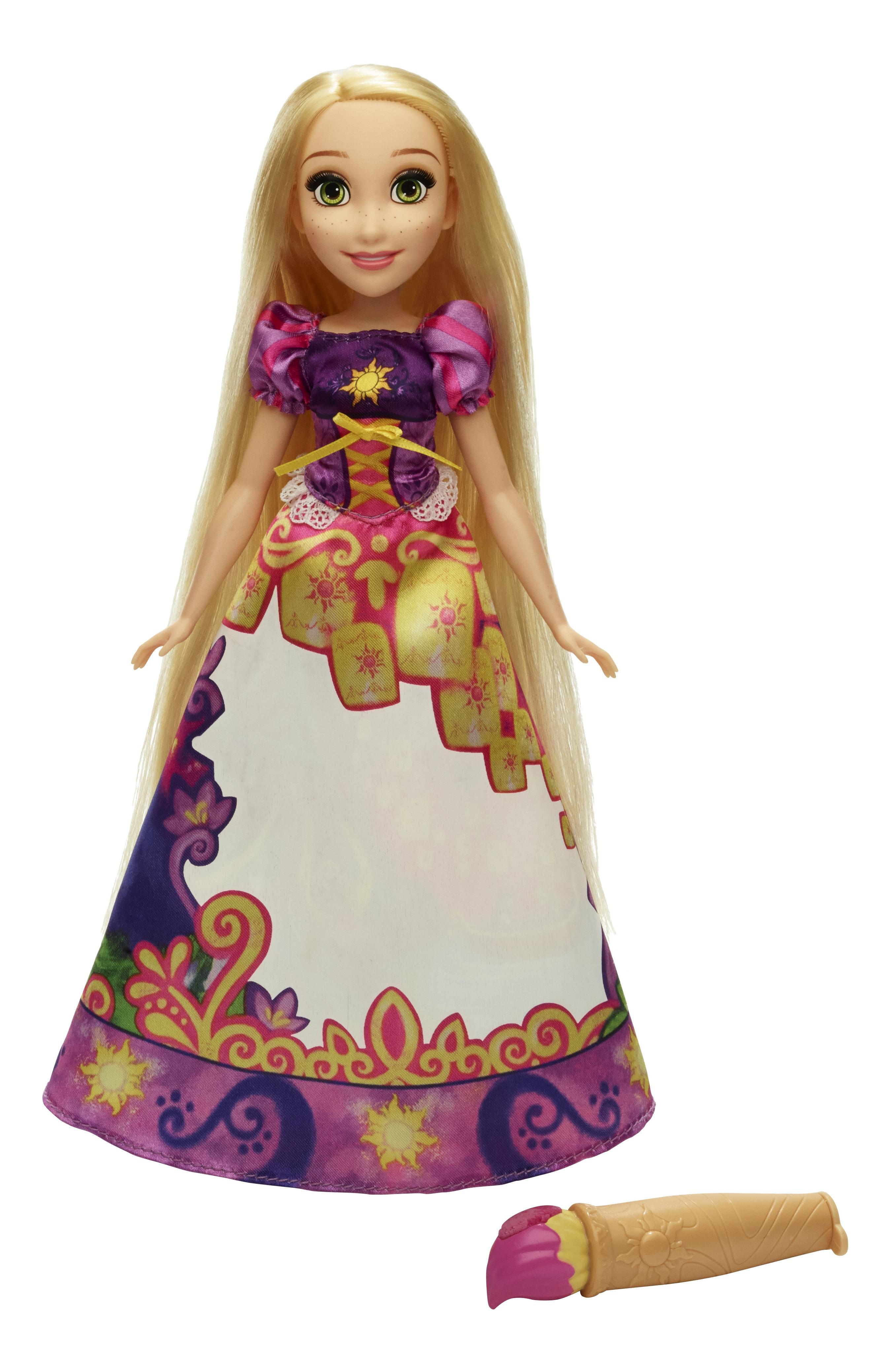 Купить Кукла Disney модная Принцесса в юбке с проявляющимся принтом b5295 b5297, Hasbro, Классические куклы