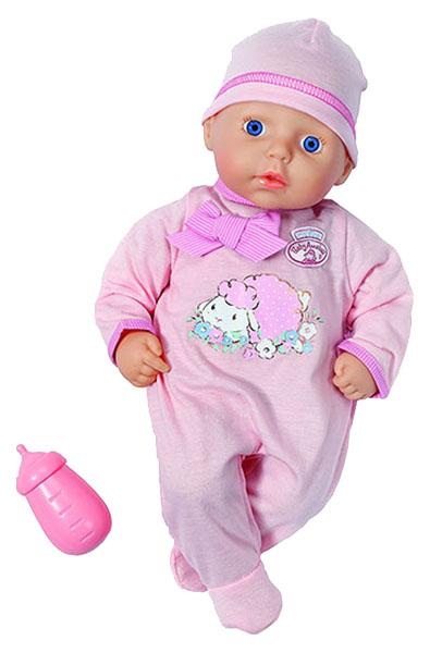 Купить Кукла Zapf Creation My First Baby Annabell с бутылочкой, 36 см,