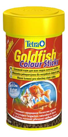 Корм для золотых рыб Tetra AniMin Goldfisch Colour Sticks, улучшение окраса,палочки,100 мл