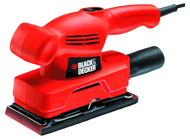 Сетевая вибрационная шлифовальная машина Black+Decker KA300, KA300