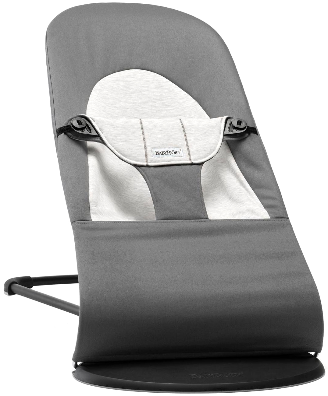 Шезлонг кресло BabyBjorn Balance Soft темно серый