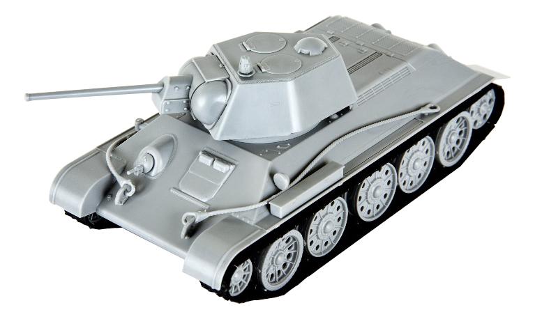 Модели для сборки Zvezda Советский средний танк Т-34/76, 5001