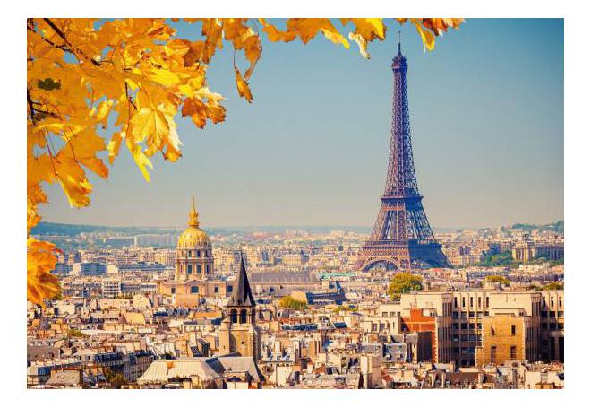 Пазл Castorland Осень в Париже 1000 деталей