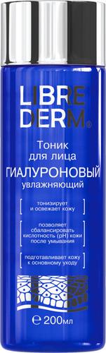 Купить Тоник для лица LIBREDERM Гиалуроновый, увлажняющий, 200 мл, Гиалуроновый тоник увлажняющий