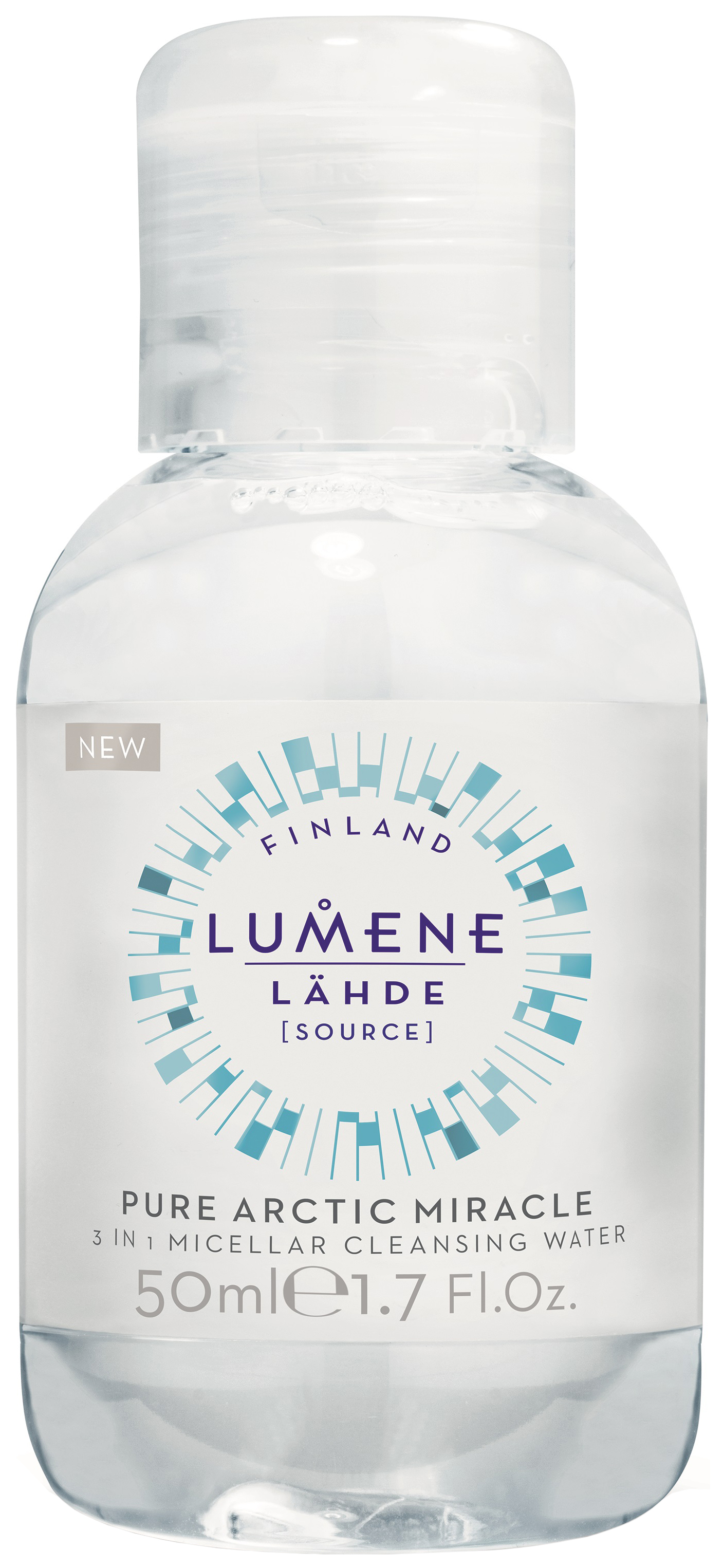 Мицеллярная вода Lumene Lahde Pure Arctic Miracle 3 in 1 Micellar Water 50 мл