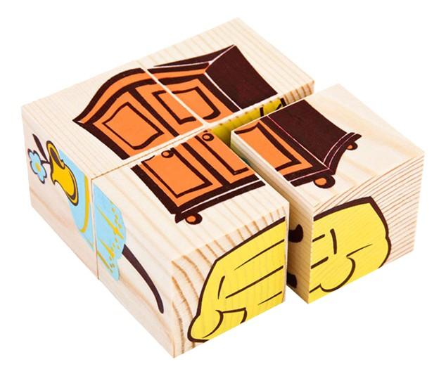 Детские кубики Томик