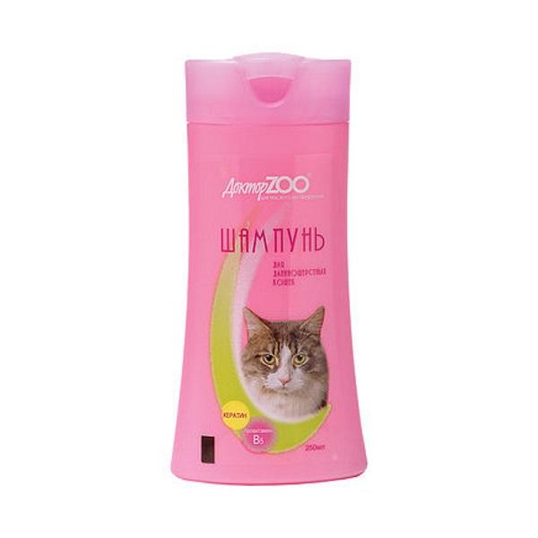 Шампунь бальзам для кошек Доктор ZOO