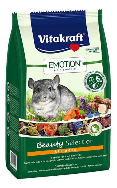Корм для грызунов Vitakraft Emotion Beauty Selection 0.6 кг 1 шт