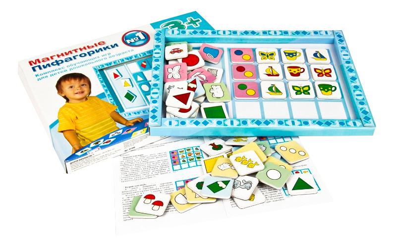 Развивающая игрушка Десятое Королевство Магнитные пифагорики 3+