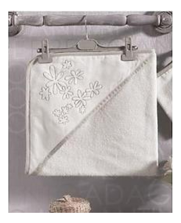 Купить Полотенце детское Kidboo Valentine Saten Vanilla 75*75 см,