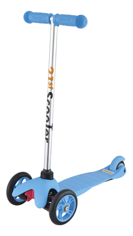 Кикборд детский Maxi Scooter Blue 21st Scooter SKL-06A Blue