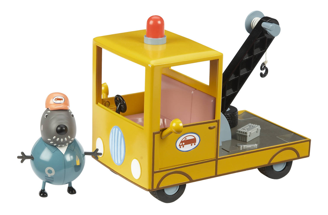 Купить Peppa Pig. Погрузчик дедушки Пса, Игровой набор Свинка Пеппа Toy Options Peppa Pig Погрузчик дедушки Пса, Игровые наборы