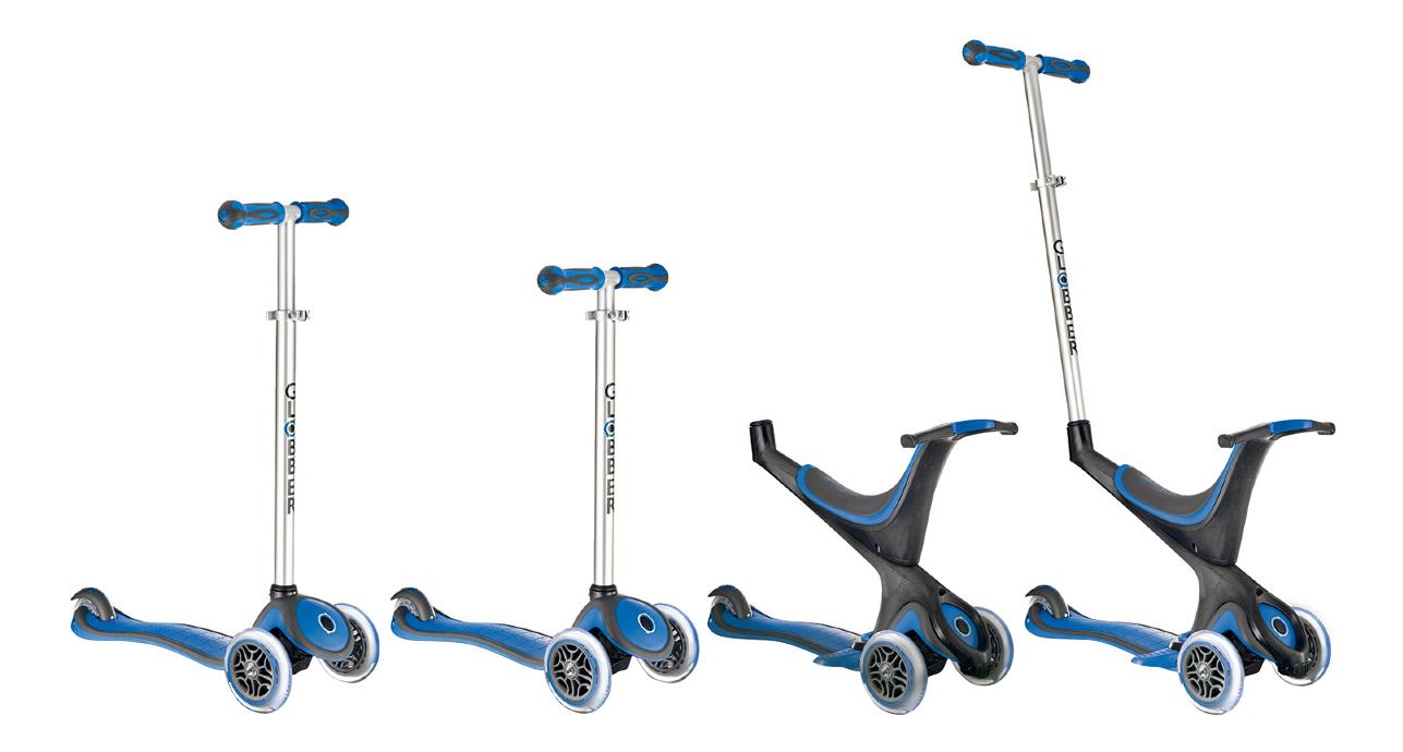 Купить Велосипед Globber EVO 5 в 1 синий, Самокаты детские трехколесные