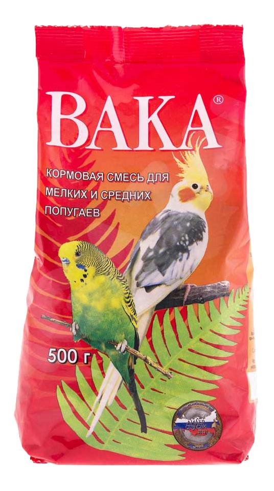 Основной корм Вака для попугаев 500 г, 1 шт