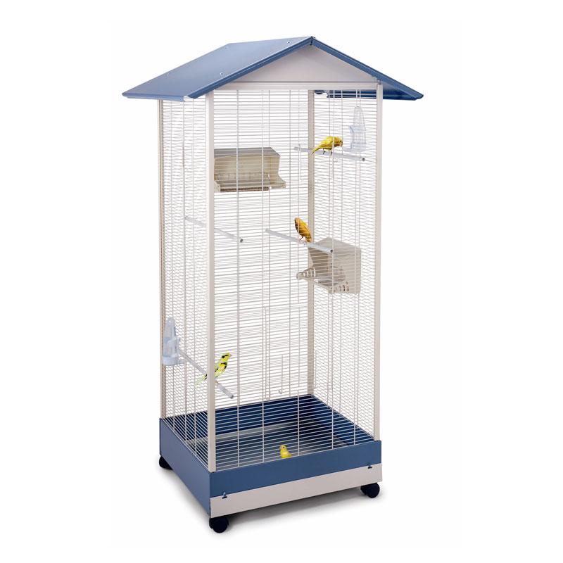 Клетка для птиц Imac LOBELIA, пепельно синий,