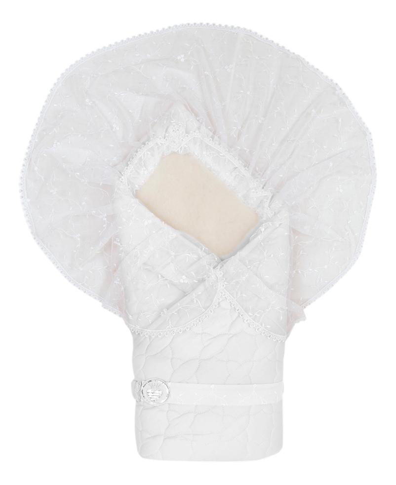 Одеяло детское Сонный гномик Зимушка белый
