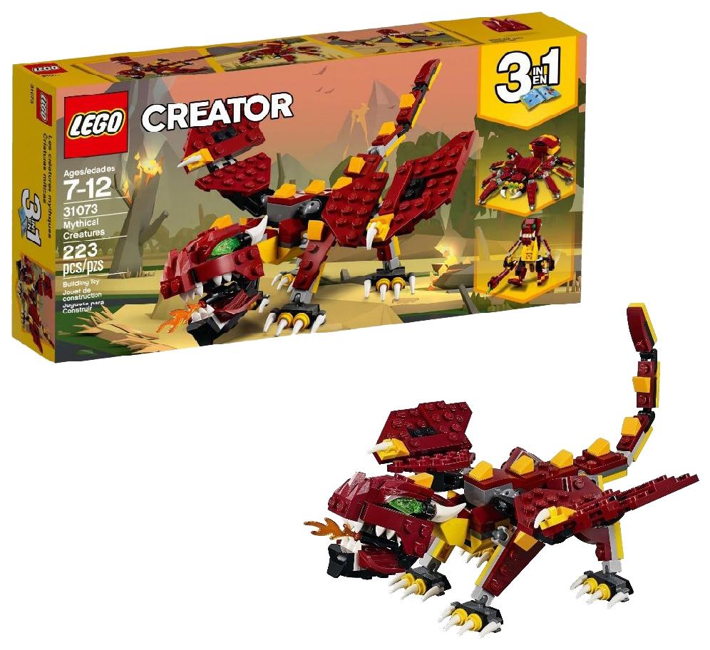 Конструктор LEGO Creator Мифические существа 31073 фото