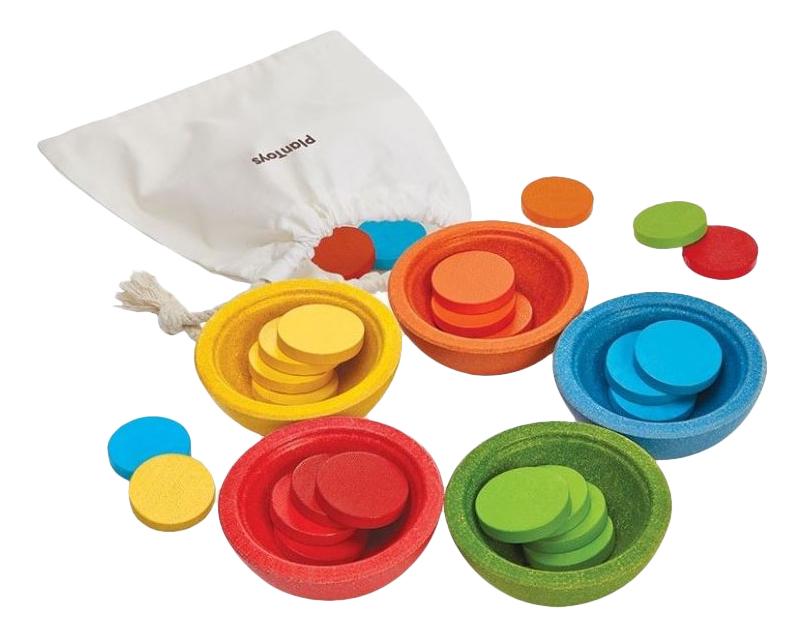 Купить Развивающая игрушка PlanToys Счет и сортировка, Развивающие игрушки