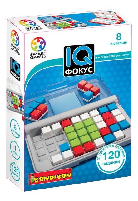 Логическая игра Bondibon Smart Games - IQ-фокус, 120 заданий ВВ2184