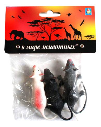 Фигурки животных 1TOY В мире животных Крысы т10492 фото