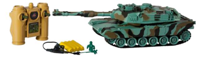 Купить Танк Abrams М1А2, Радиоуправляемая военная техника Пламенный Мотор 870235, Пламенный мотор, Радиоуправляемые танки
