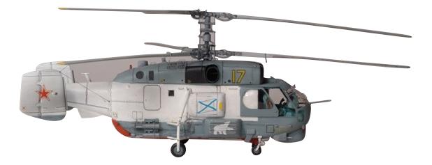 Модели для сборки Zvezda Российский противолодочный вертолет Морской охотник фото