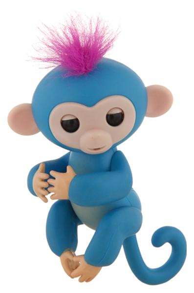Интерактивная игрушка Finger Monkey Rombica синяя 50052547 Finger Monkey синяя 50052547