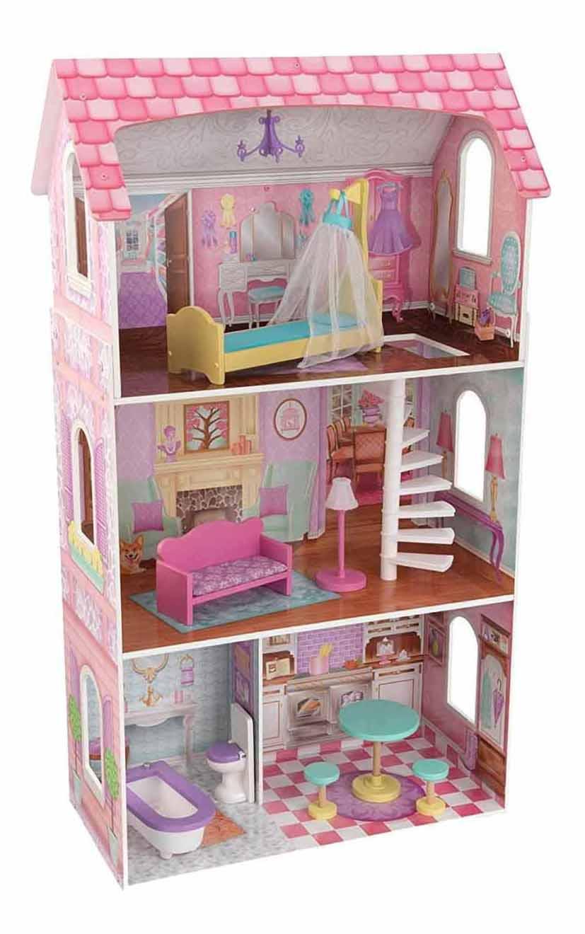 Купить Кукольный дом Barbie Penelop Dollhouse Kidkraft 65179_KE, Кукольные домики