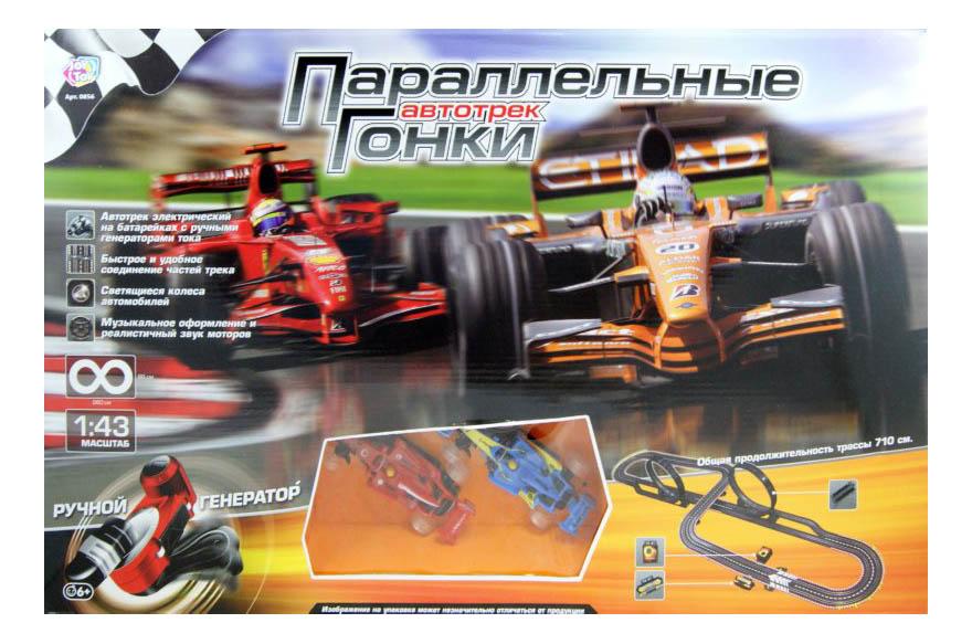 Купить Автотрек Параллельные гонки Play Smart, PLAYSMART, Детские автотреки