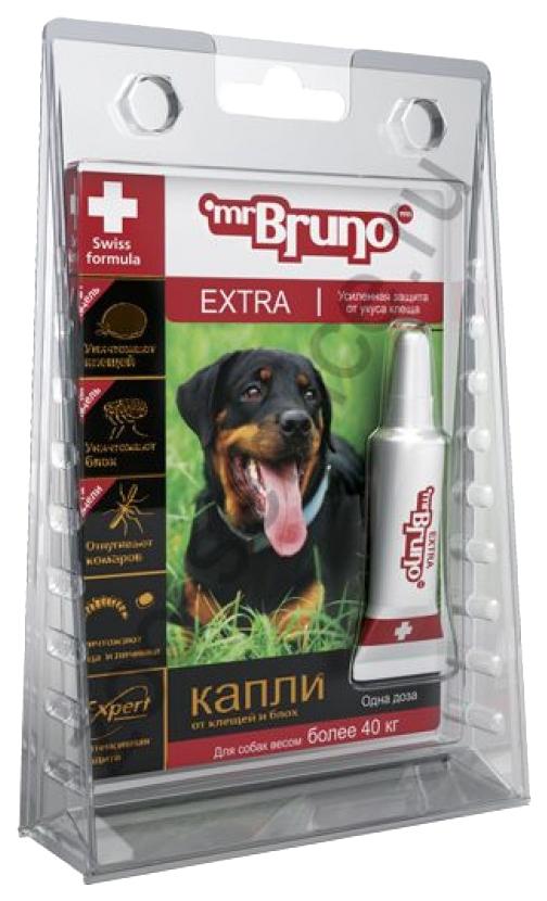 Средство от блох для домашних животных Mr. Bruno Extra Expert для собак весом более 40 кг