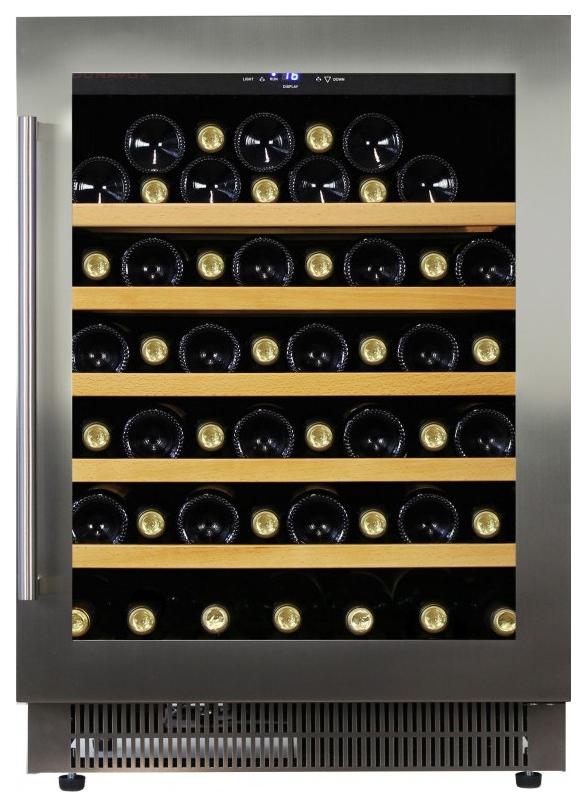 Встраиваемый винный шкаф Dunavox DAU 52.146SS