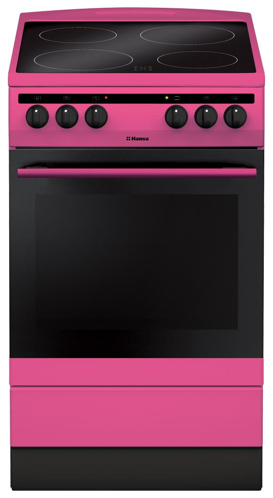 Электрическая плита Hansa FCCP58088 Pink