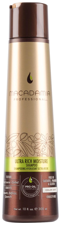 Купить Шампунь Macadamia Ultra Rich Moisture ультра-увлажнение для жестких волос 300 мл