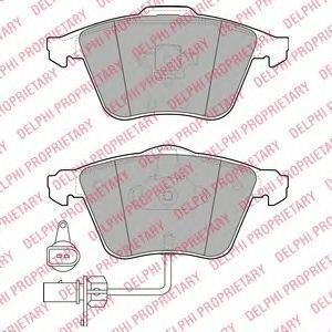 Тормозные колодки дисковые Delphi LP1922 фото