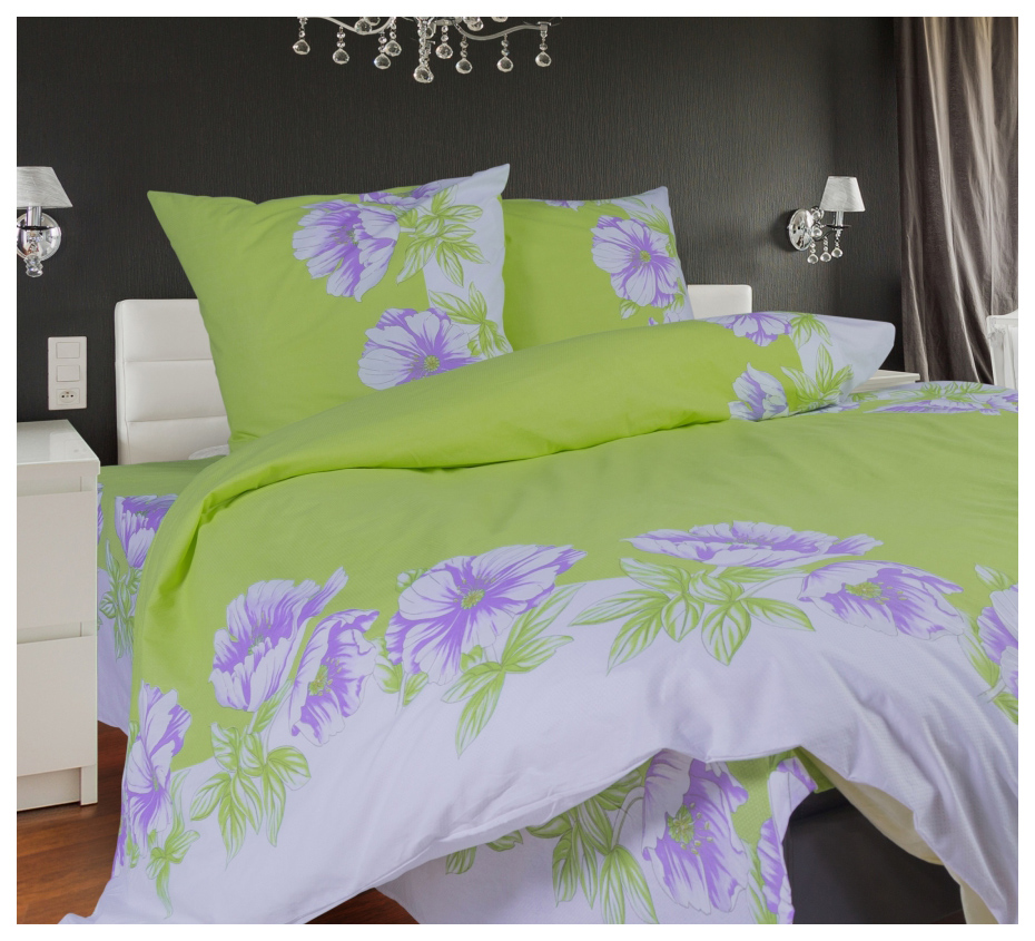 Комплект постельного белья СайлиД поплин (а) двуспальный