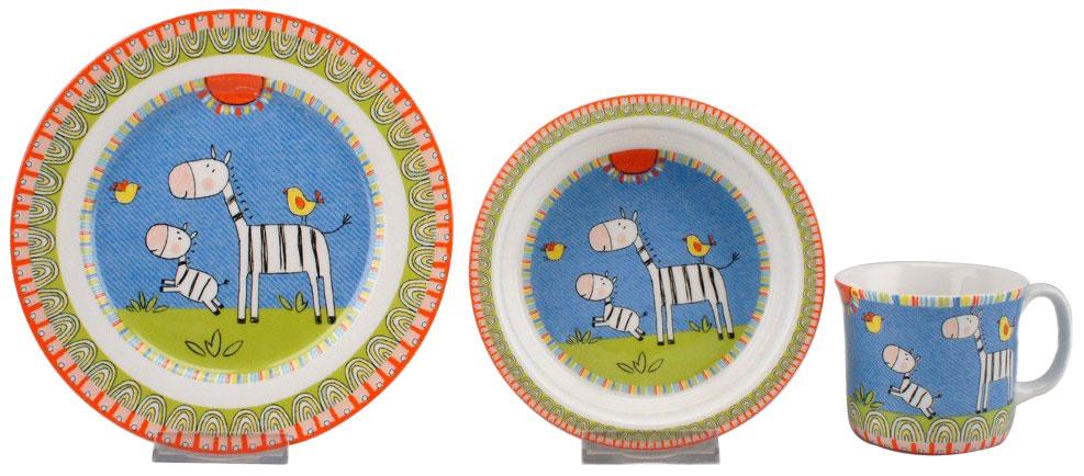 Набор посуды игрушечный Top Art Studio Волшебная страна 3 пр SC1064-TA