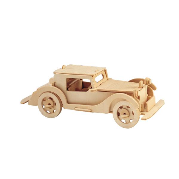 Купить Модель деревянная сборная Автомобильобурнмалый, Wooden Toys, Модели для сборки