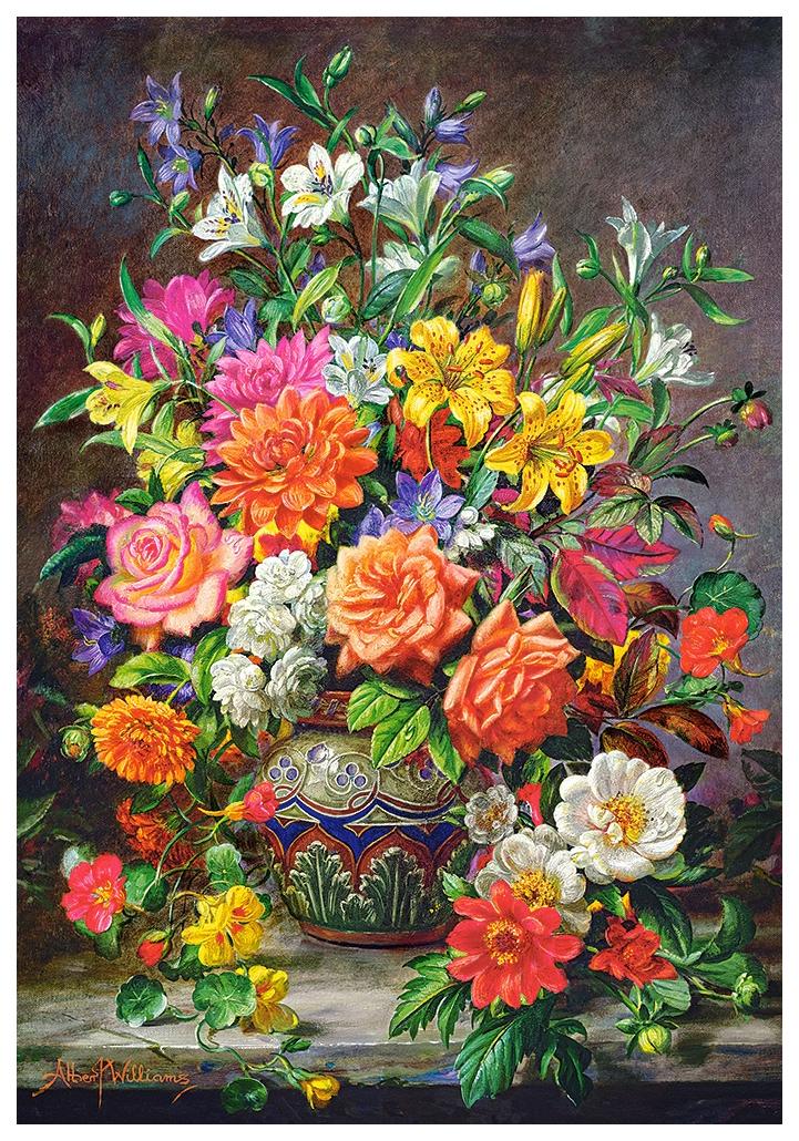 Пазл Castorland Сентябрьские цветы 1000 деталей C-151622