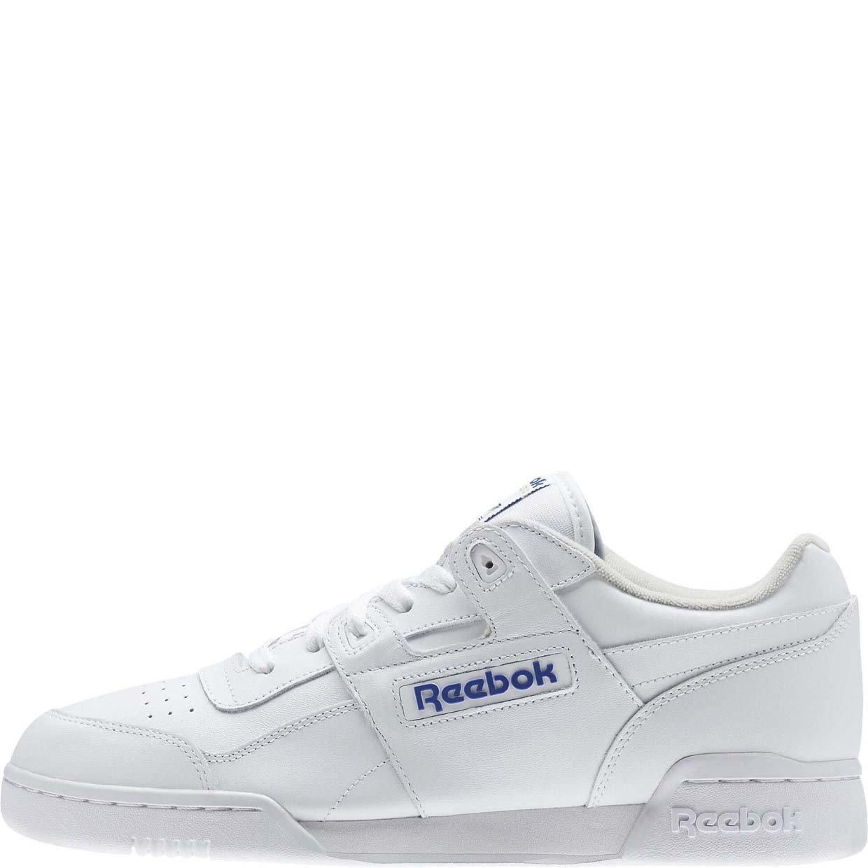 Кроссовки Reebok Workout Plus 2759, white, 35 RU фото