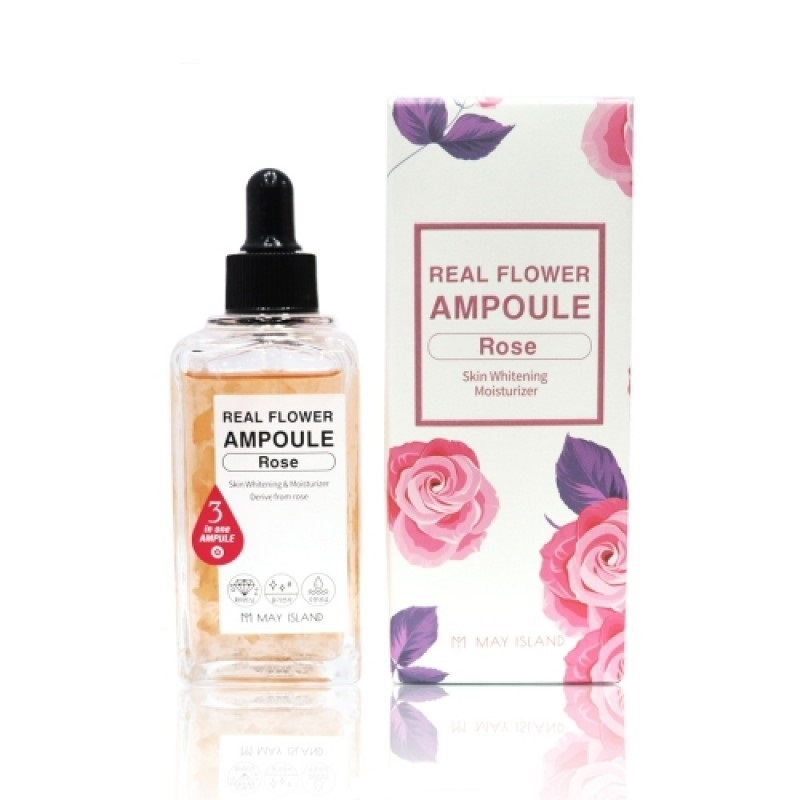 Сыворотка для лица May Island Real Flower Ampoule